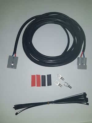 6Mm 5M Extension Lead With Anderson Style Plugs And Bonus Ring Terminals