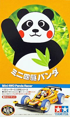 Tamiya 18084 1/32 JR Mini 4WD Car Super II Chassis Panda Racer Kit