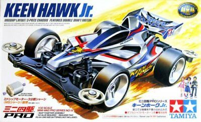 Tamiya 18618 1/32Mini 4WD KEEN HAWK Jr. Model Kit