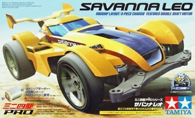 Tamiya 18623 1/32 Mini 4WD Savanna Leo MS Chassis Model Kit
