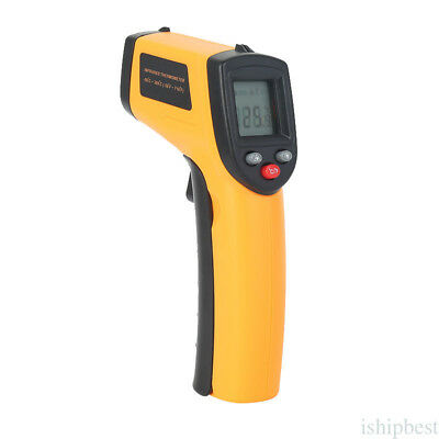 GM320 Non-Contact Laser IR Infrared Thermometer Gun Digital LCD Display Useful