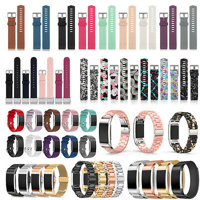For Fitbit Alta HR Strap Silicone Replacement Band Clasp Metal Buckle Wristband