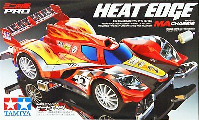 Tamiya 18636 1/32 Mini 4WD Mid-Ship Aero Series MA Chassis Heat Edge Car Kit