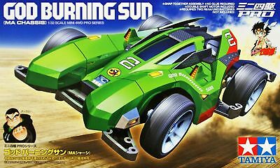 Tamiya 18644 1/32 Mini 4WD Pro Car Kit MA Chassis JR God Burning Sun Model Kit