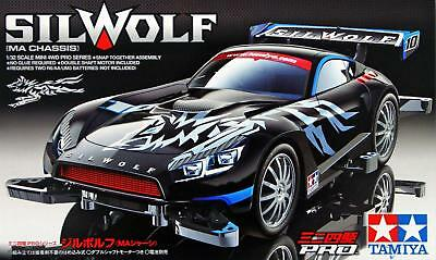 Tamiya 18645 1/32 Mini 4WD Pro Car Kit MA Chassis JR Silwolf GT