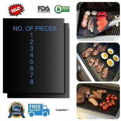 BBQ Grill Mat Baking Mat FDA Approved Non Stick Grilling Mats Reusable On Sale