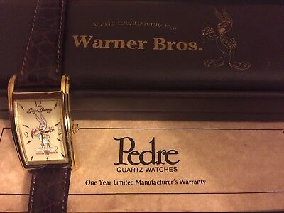 Bugs Bunny, Warner bros Watch. Pedre, Limited Ed! #2921. VERY Rare & Collectable