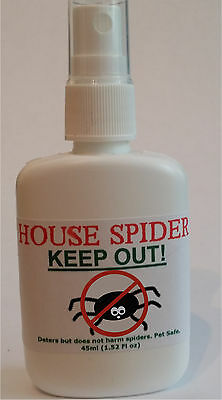 House Spider Spray - Super Concentrated BIG SPIDER Repellent!