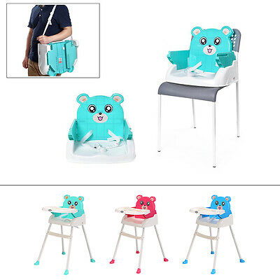 4 in 1 Baby High Chair Table Seat Booster Toddler Portable Feeding Highchair USA