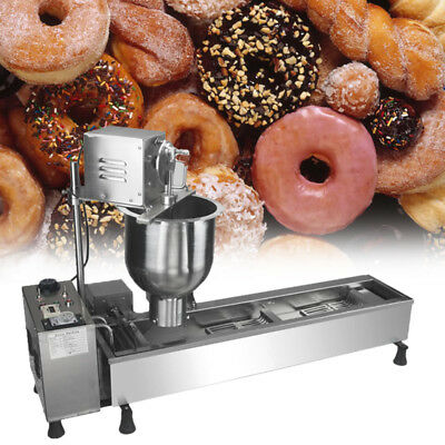 New High standard Commercial Automatic Donuts Maker Making Machine Wide Oil Tank
