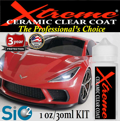 "CERAMIC - PRO CAR COATING  9H XTREME NANO ""WET LOOK""  -  1oz/30ml  MADE IN USA"