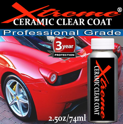 """9H CERAMIC AUTO CLEAR COATING XTREME NANO  """"WET LOOK""""  - 4 oz/119ml  MADE IN USA"""
