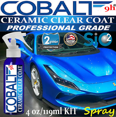 "Ceramic Car Coating Kit 9H Nano Quartz Glass Paint Protection ""Wet Look"" Spray"