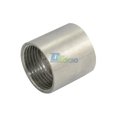 """1 Piece  1"""" Female x  Female Threaded Pipe Fitting Stainless Steel SS304 BSP NEW"""