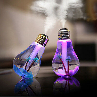 Colorful Night Light USB Aroma Diffuser Air Purifier Home Desk Car Humidifier