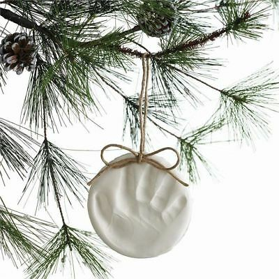 Baby & Child Christmas Tree Decoration, Handprint Footprint Imprint Kit, Gift