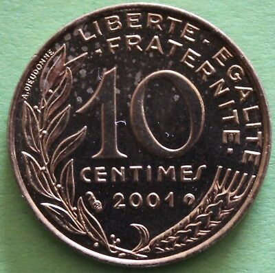 France 10 Centimes Marianne 2001  F.144