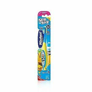 Wisdom Step By Step 3-5 Years Toothbrush
