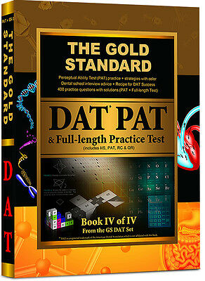 DAT PAT Prep Book with  DAT PAT Practice Tests, Tips and Strategies