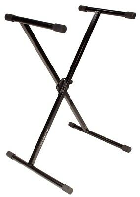 Ultimate Support IQ-1000 Single-Brace X-Style Keyboard Stand - New Boxed