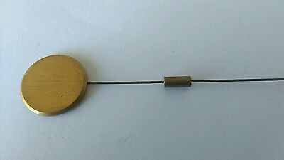 Silk Suspension Pendulum Rod Length 260mm Bob Diameter 29mm Brass