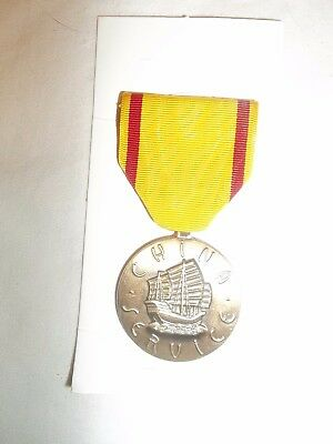 World War II WW II U.S. Dept of the Navy China Service Military Medal w/ Ribbon