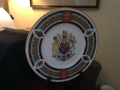 Royal Worcester Limited Edition Plate Charles Princess Di Lady Diana wedding
