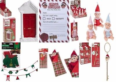Elf On The Shelf Accessories Ideas Kit Prop, Key, Door, Connect 4, and more