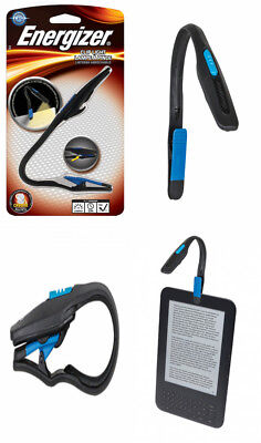 EnergizerLightweight LED Clip Book Light for Reading, Includes 2 CR2032 Batteri