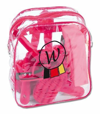 Waldhausen Horse Riding Care Pony Backpack Grooming Brushes Combs Ladies Womens
