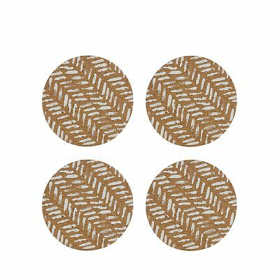 Home Collection Set Of Four Brown 'Stockholm' Coasters From Debenhams