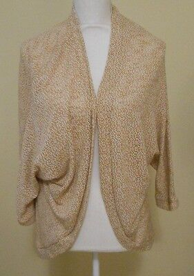 Motherhood Maternity Lightweight Oatmeal Beige Cardigan Sweater Size S/M