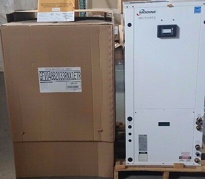 modine geothermal  heat pump, 4 ton, vertical, water to air,