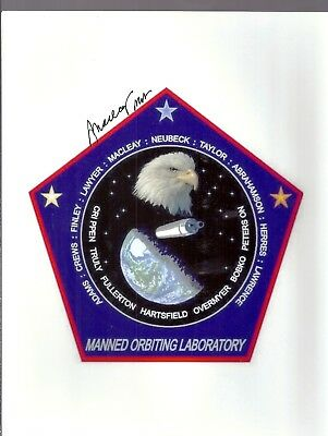 """AUTOGRAPH MANNED ORBITING LABORATORY ASTRONAUT  Lachlan """"Mac"""" Macleay"""
