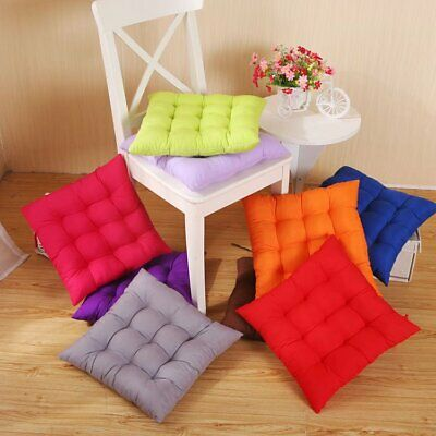 Tie On Chair Cushion Seat Pads Dining Room Kitchen Office Soft Patio Pillow Pad