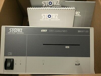 Karl Storz 20093801U1-DR SCB OR1 Control NEO System 20097120 w/accessories New