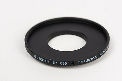 Heliopan Nr. 699 E 55/ 30x0.5 step up adapter ring