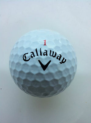 42 BOLAS DE GOLF CALLAWAY HEX BLACK / CHROME ## GRADO PERLA y A ##