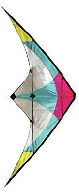 Stunt Kite - 120 x 60 cm Dual Line Kite - High Flying Kite with multi ...
