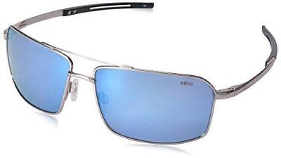 REVO RE5001X 03 BL CAYO Chrome Frame w/Polarized Blue Water Lenses Aviator Suns