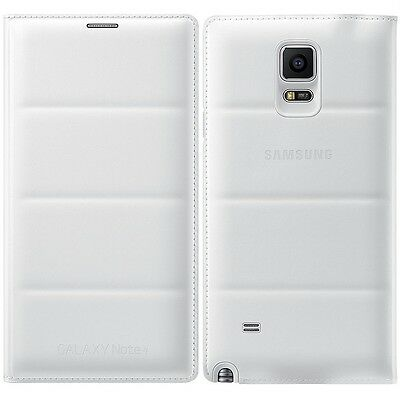 Genuine Samsung FLIP COVER GALAXY NOTE 4 SM N910 F T mobile cell phone original