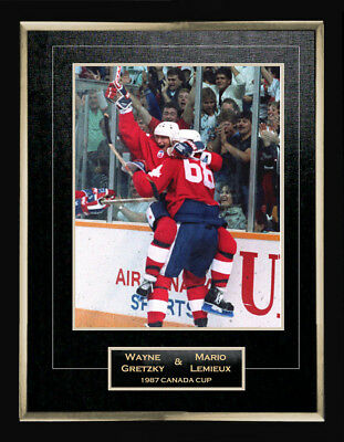 87 Canada Cup 11X14 Collector Photo