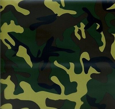 Hydrographic Film Water Transfer Hydrodipping Hydro Dip Army Camo 2 1M
