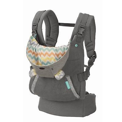 Infantino Carrier Cuddle Up Ergonomic Hoodie New