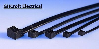 Cable Ties Electrical Black or Natural Nylon various sizes BUY 1 GET 1 @ 10% OFF