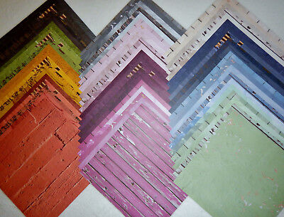 12x12 Scrapbook Paper Studio Entirely Textures 2 Stack Rainbow Wholesale 60 Lot