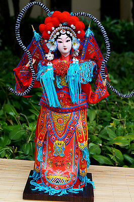 The Peking Opera Performer Ancient Chinese legendary heroine Lady Mu Guiying