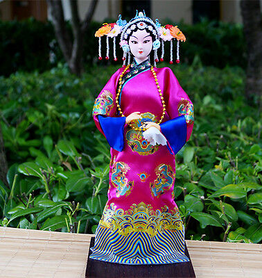 The Peking Opera Performer Doll Historical Legend Empress Dowager Xiao