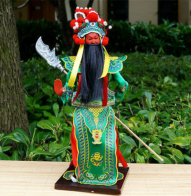 The Chinese Peking Opera Performer Three Kingdom War General Commander-Guan Yu