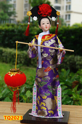 """12"""" Ancient Chinese Beauty Lady Qing Dynasty Princess Collectible Gift-TQ2023"""